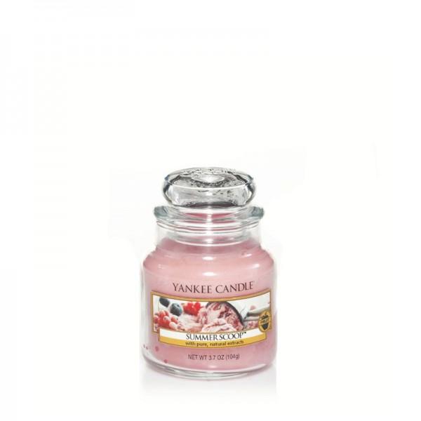 Yankee Candle Duftkerze «Summer Scoop» klein (small Jar 104g)