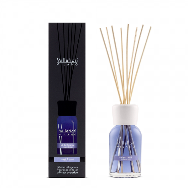 Millefiori «Violet & Musk» Parfum d'ambiance 250 ml