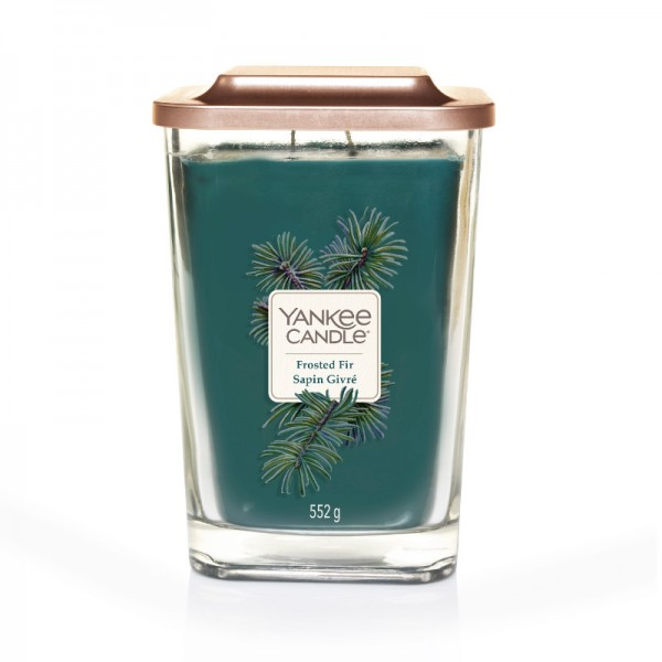Yankee Candle Duftkerze Elevation  «Frosted Fir» gross (large 552g)