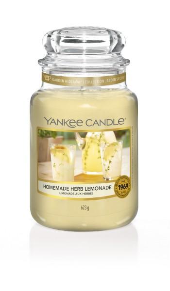 Yankee Candle Duftkerze «Homemade Herb Lemonade» gross