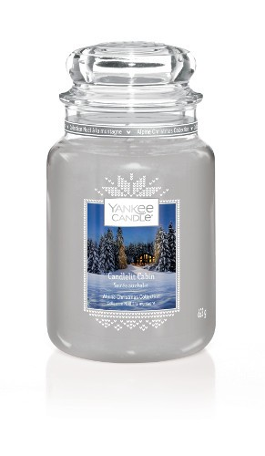 Yankee Candle Duftkerze «Candlelit Cabin» gross
