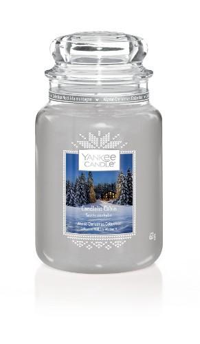 Yankee Candle «Soirée au chalet» Bougie Parfumée grande