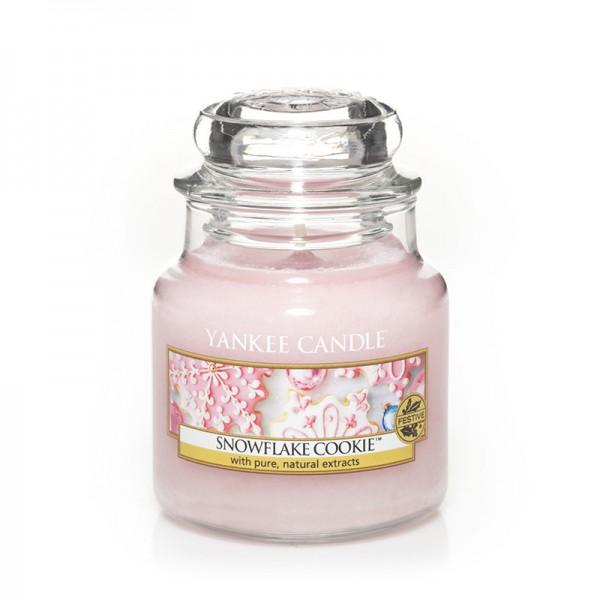 Yankee Candle Duftkerze «Snowflake Cookie» klein (small Jar 104g)