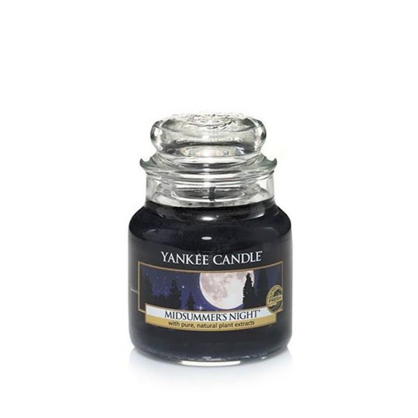 Yankee Candle Duftkerze «Midsummers Night» mittel (medium Jar 411g)