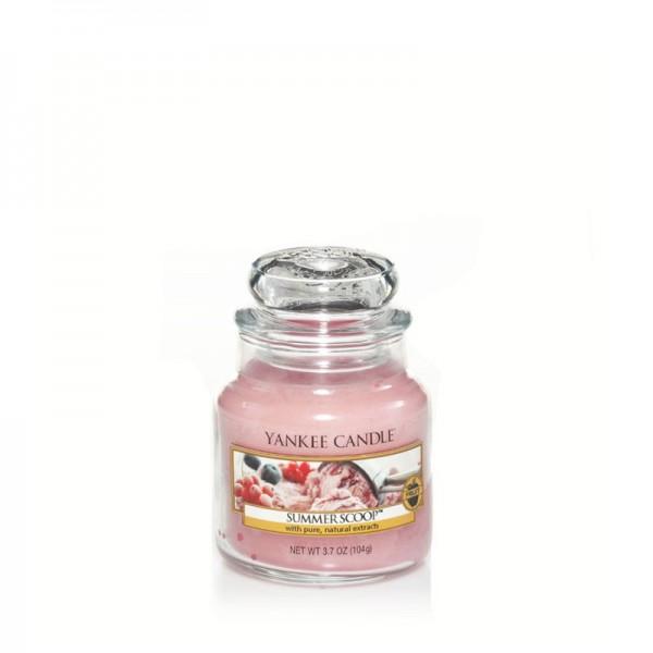 Yankee Candle Duftkerze «Summer Scoop» mittel (medium Jar 411g)
