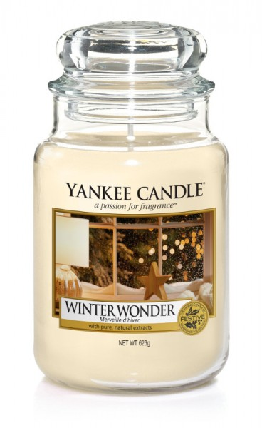 Yankee Candle Duftkerze «Winter Wonder» gross (large Jar 623g)