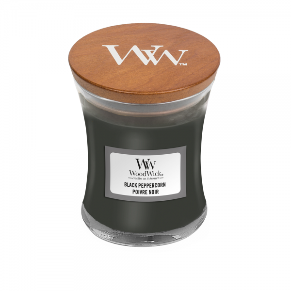 WoodWick Duftkerze «Black Peppercorn» mini