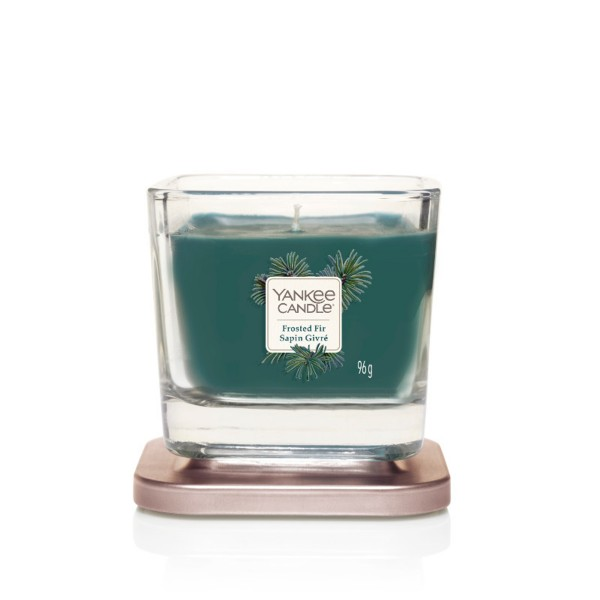 Yankee Candle Duftkerze Elevation «Frosted Fir» klein (small 96g)