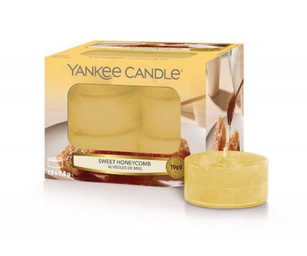 Yankee Candle Duftkerze «Sweet Honeycomb» Teelicht