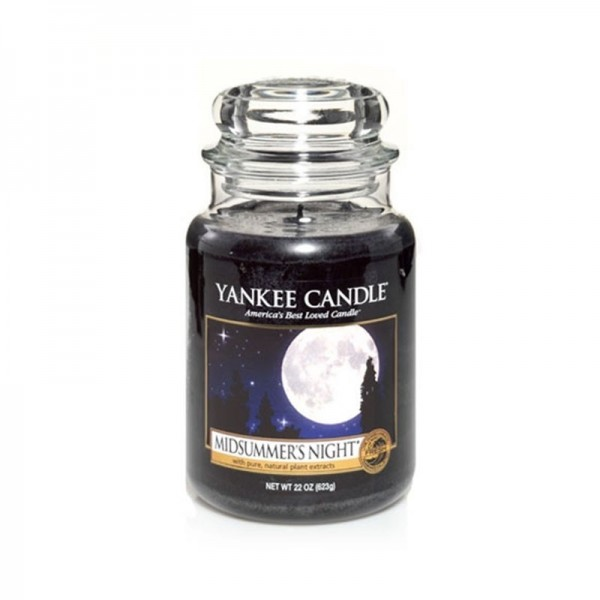 Yankee Candle Duftkerze «Midsummers Night» gross (large Jar 623g)