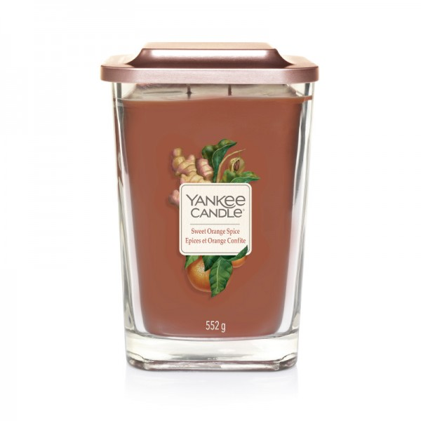 Yankee Candle Duftkerze Elevation  «Sweet Orange Spice» gross (large 552g)