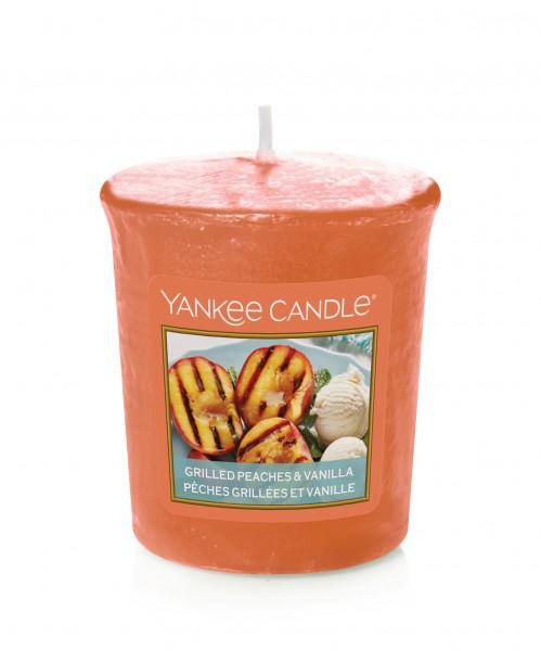 Yankee Candle Duftkerze «Grilled Peaches & Vanilla» Votivkerze