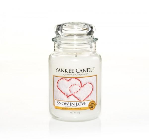Yankee Candle «Amour d'hiver» Bougie Parfumée Grande Jarre (large Jar 623g)