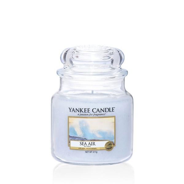 Yankee Candle Duftkerze «Sea Air» mittel (medium Jar 411g)