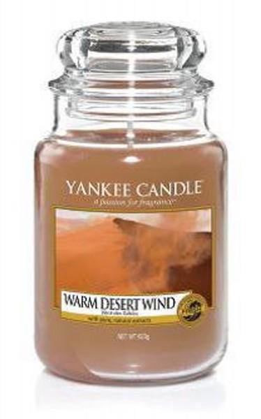 Yankee Candle Duftkerze «Warm Desert Wind» gross (large Jar 623g)