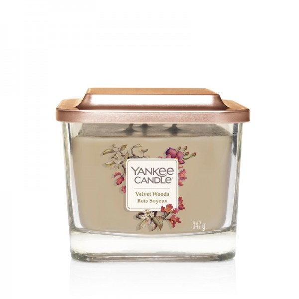 Yankee Candle Duftkerze Elevation  «Velvet Woods» mittel (medium 347g)