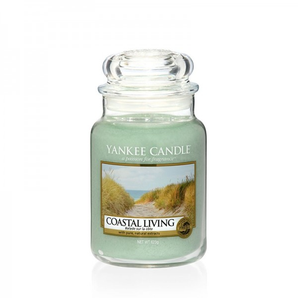 Yankee Candle Duftkerze «Coastal Living» gross (large Jar 623g)