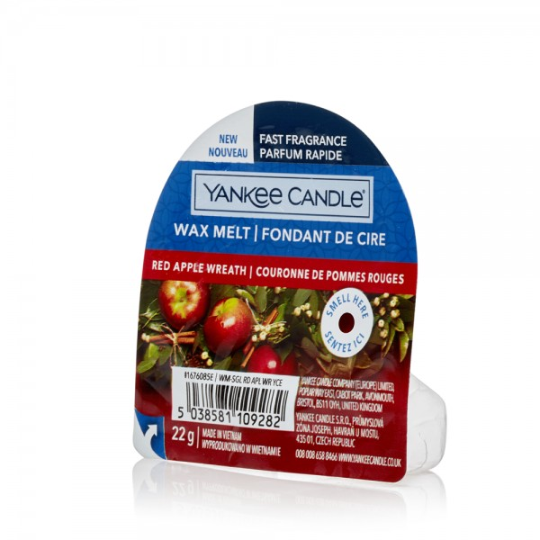 Yankee Candle «Couronne pommes rouges» Tartelette