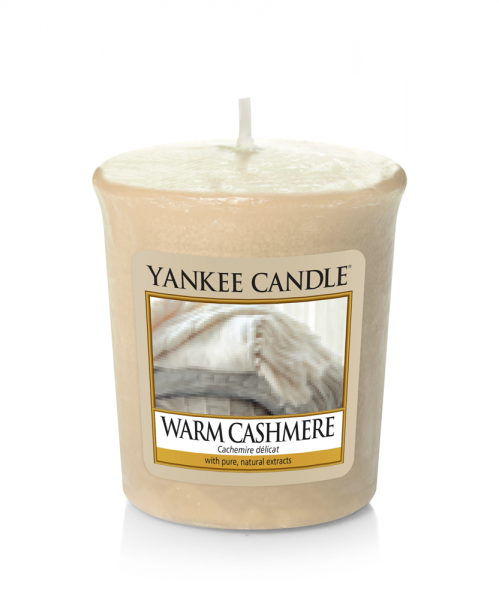 Yankee Candle «Cachemire délicat» Bougie Parfumée Votive