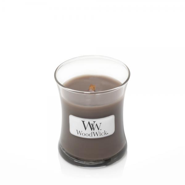 WoodWick «Sand & Driftwood» Bougie Parfumée mini