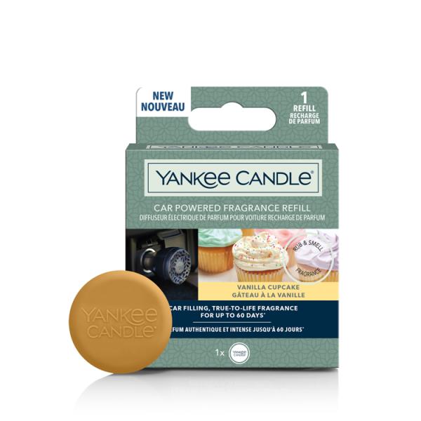 Yankee Candle Car Powered Fragrance Refill «Gâteau à la vanille» Parfum pour voiture
