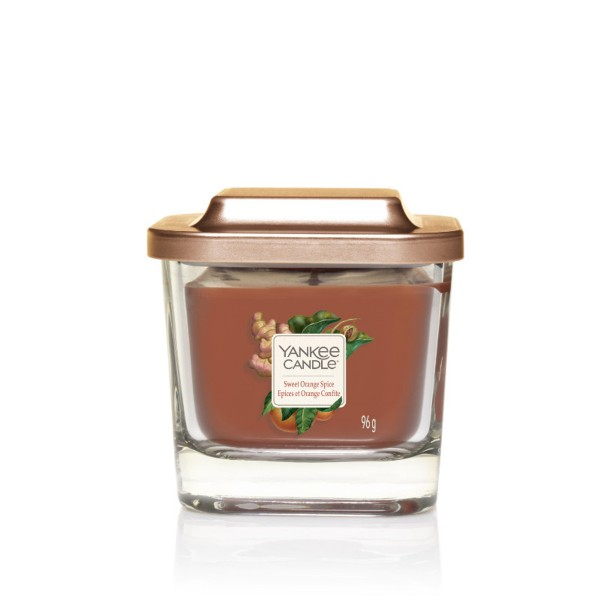 Yankee Candle Duftkerze Elevation «Sweet Orange Spice» klein (small 96g)