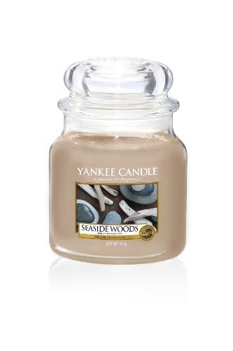 Yankee Candle «Bois en bord de mer» Bougie Parfumée moyenne