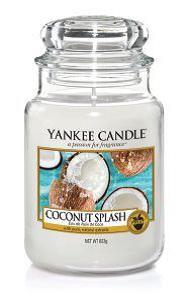 Yankee Candle «Eau de Noix de Coco» Bougie Parfumée Grande Jarre (large Jar 623g)