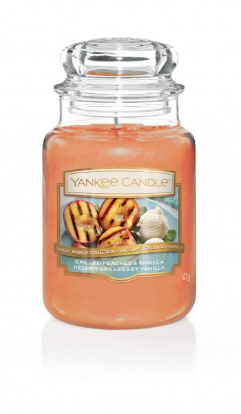 Yankee Candle Duftkerze «Grilled Peaches & Vanilla» gross