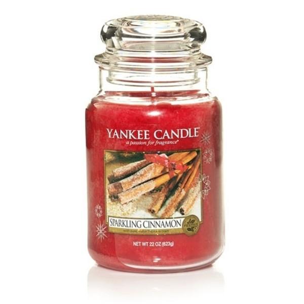 Yankee Candle Duftkerze «Sparkling Cinnamon» gross (large Jar 623g)