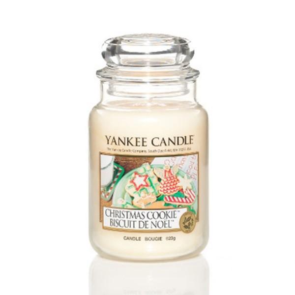 Yankee Candle Duftkerze «Christmas Cookie» gross (large Jar 623g)