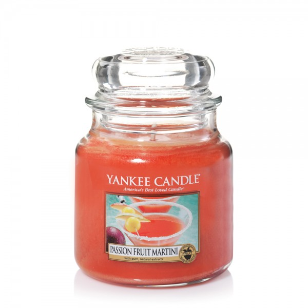 Yankee Candle Duftkerze «Passion Fruit Martini» mittel
