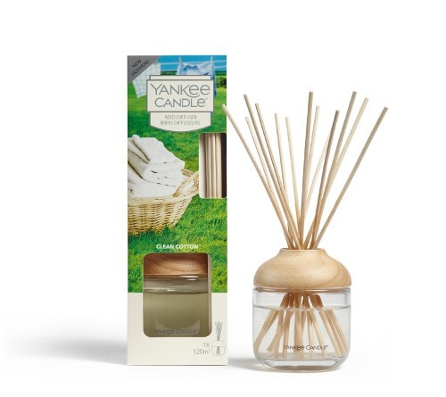 Yankee Candle Raumduft «Clean Cotton» Reed Diffuser