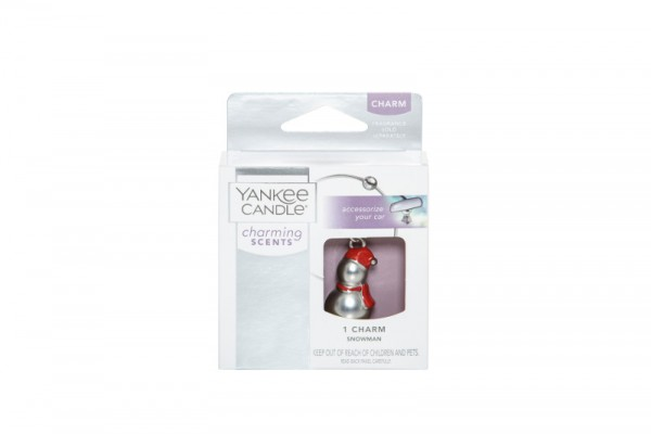 Yankee Candle Autoduft «Charm Snowman» Charming Scents, Anhänger