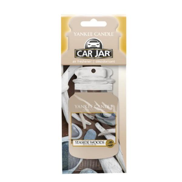 Yankee Candle Car Jar Karton «Bois en bord de mer» Parfum pour voiture