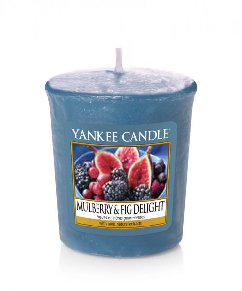 Yankee Candle «Figues et mûres gourmandes» Bougie Parfumée Votive