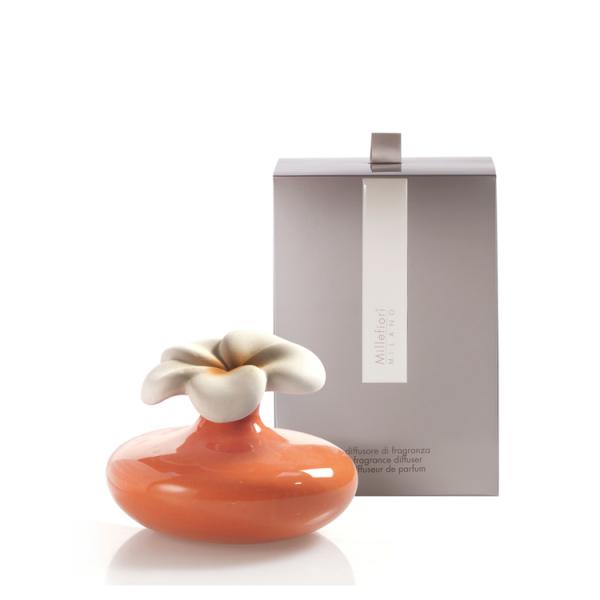 Millefiori Duftsystem Air Design «Diffuser Blume klein» orange