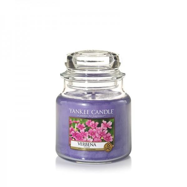 Yankee Candle Duftkerze «Verbena» mittel (medium Jar 411g)