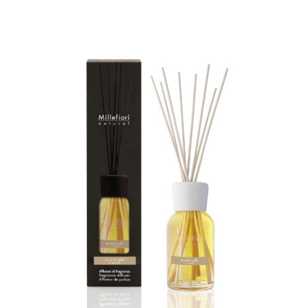 Millefiori Raumduft «Mineral Gold» 100 ml