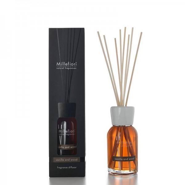 Millefiori Raumduft «Vanilla & Wood» 250ml