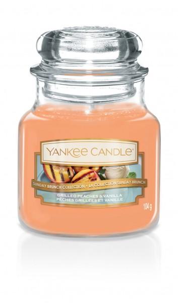 Yankee Candle Duftkerze «Grilled Peaches & Vanilla» klein