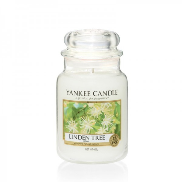 Yankee Candle Duftkerze «Linden Tree» gross (large Jar 623g)