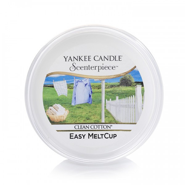 Yankee Candle Duftsystem Scenterpiece  «Clean Cotton» MeltCup
