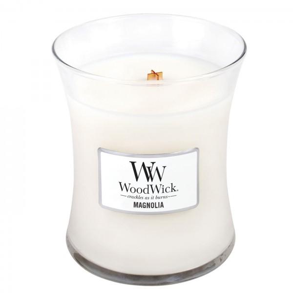 WoodWick Duftkerze «Magnolia» mini