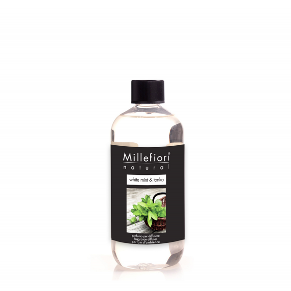 Millefiori Raumduft «White Mint & Tonka» Refill 500ml