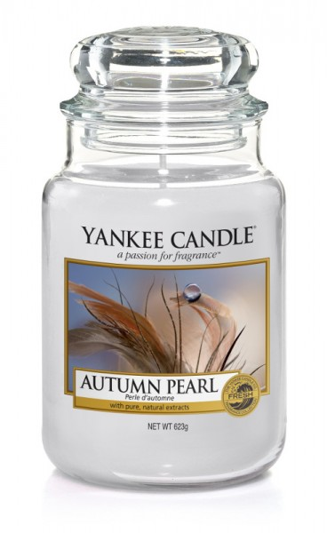 Yankee Candle Duftkerze «Autumn Pearl» gross (large Jar 623g)
