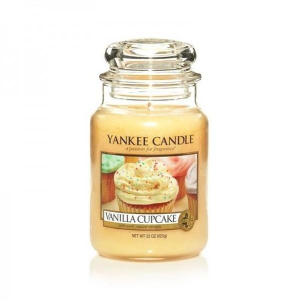 Yankee Candle Duftkerze «Vanilla Cupcake» gross (large Jar 623g)