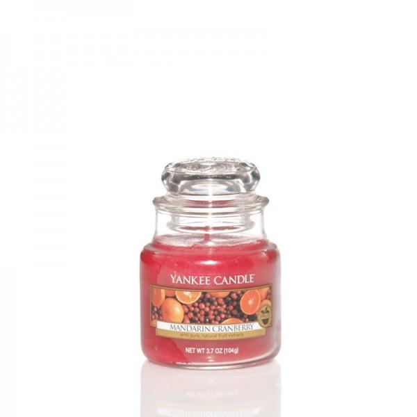 Yankee Candle Duftkerze «Mandarin Cranberry» klein (small Jar 104g)