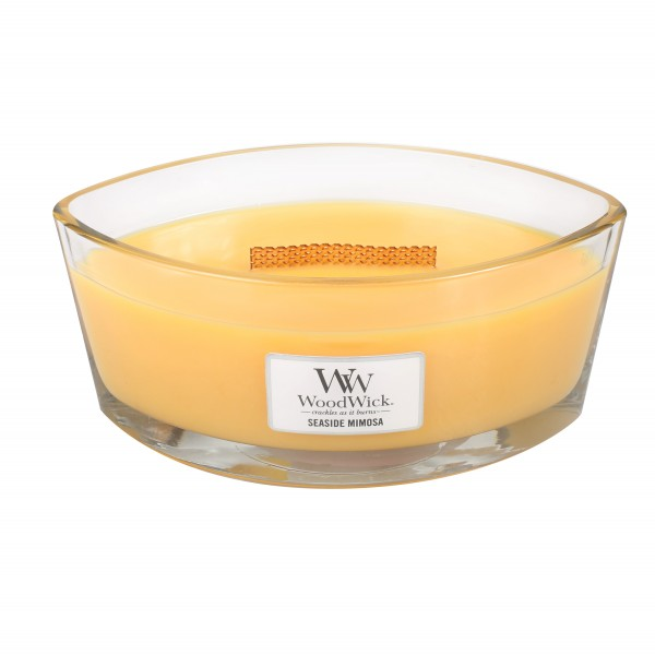 WoodWick Duftkerze «Seaside Mimosa» Ellipse