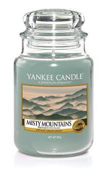 Yankee Candle Duftkerze «Misty Mountains» gross (large Jar 623g)